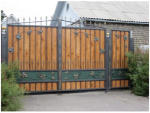 Ворота кованые №10