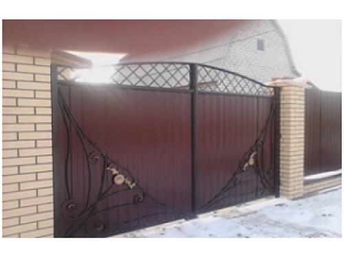 Ворота кованые №14