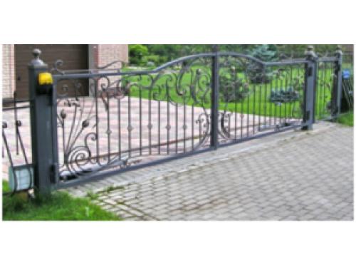 Ворота кованые №17
