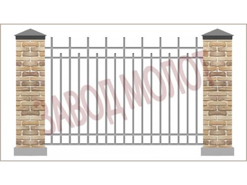 Забор сварной CT-ZC-3
