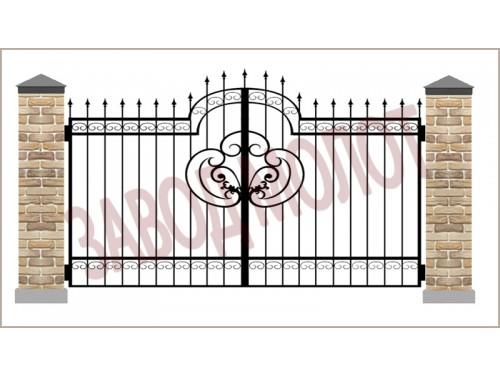 Ворота кованые CT-BK-3