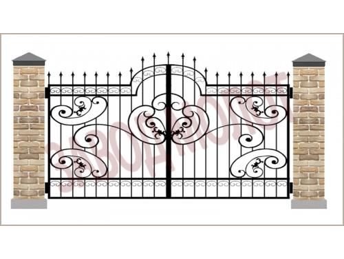 Ворота кованые CT-BK-5