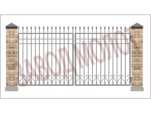 Ворота ковано-сварные CT-CKB-1