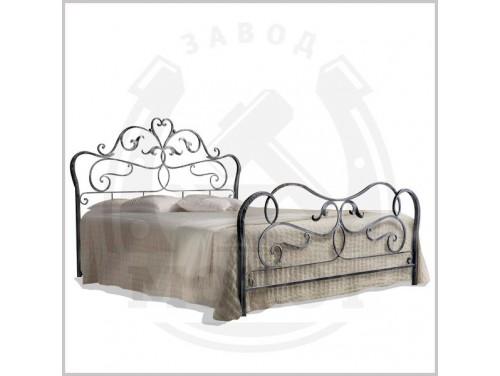 Кованая кровать K-10