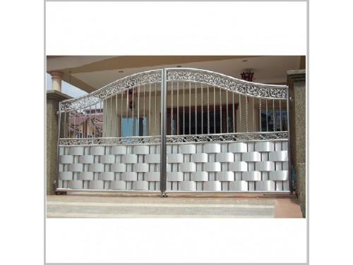 Ворота из нержавейки - 151