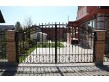 Кованные ворота №1