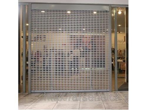 Рулонные ворота RHE78G стекло