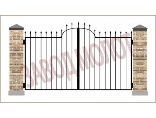 Ворота кованые CT-BK-1