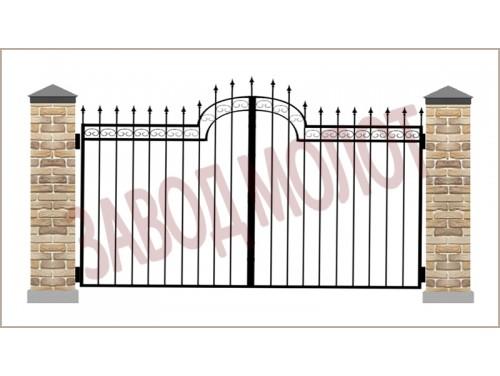 Ворота кованые CT-BK-2