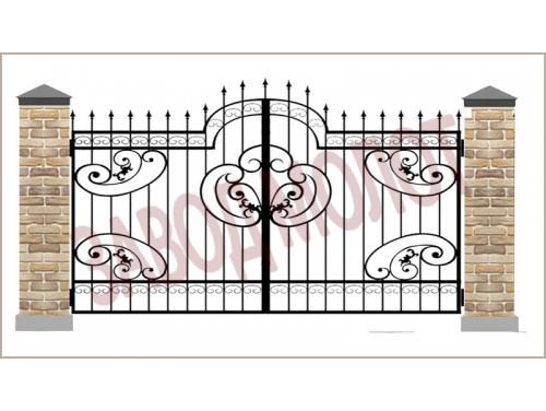 Ворота кованые CT-BK-4
