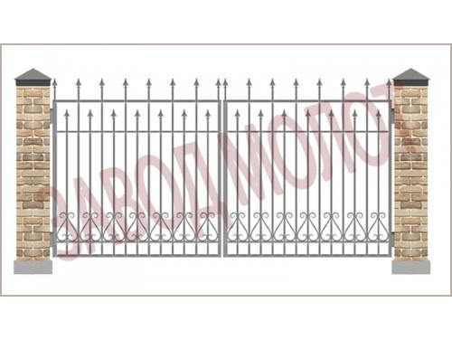 Ворота ковано-сварные CT-CKB-3