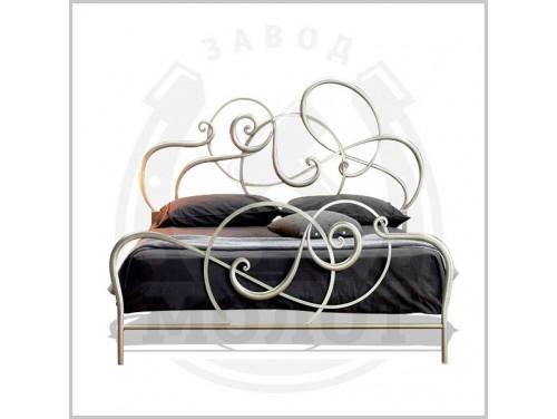 Кованая кровать K-2