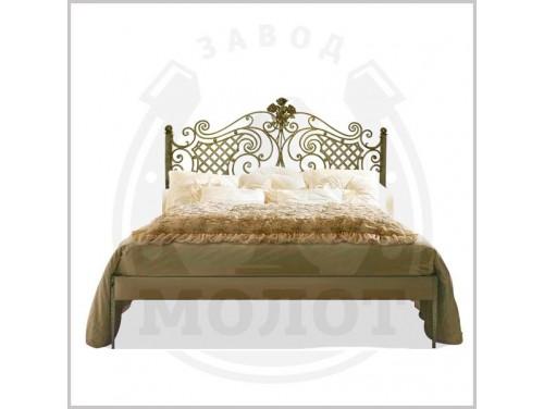 Кованая кровать K-6