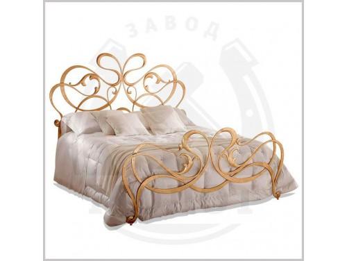 Кованая кровать K-9