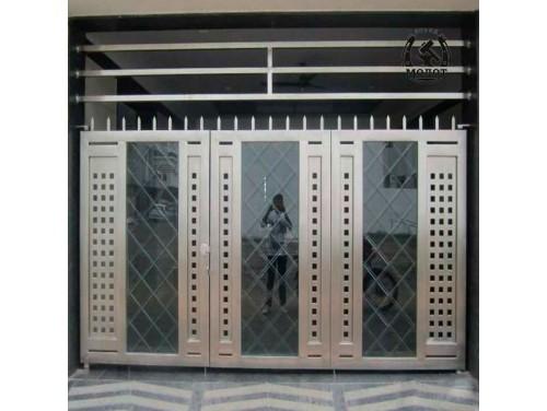 Ворота из нержавейки 175