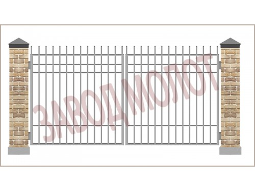 Ворота сварные CT-BC-2