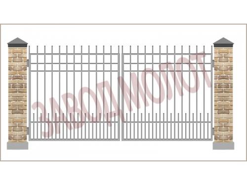 Ворота сварные CT-BC-4